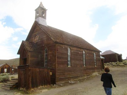 Bodie la plus grande ville fantôme de l'Ouest en californie en Amériques à visiter pendant un voyage aux Etats-Unis en famille