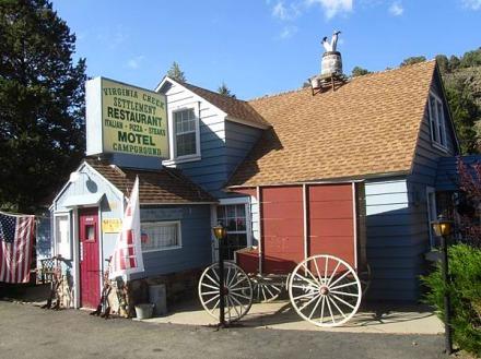 Virgina Creek Settlement hôtel à bridgeport en californie aux etats-unis où dormir lors d'un voyage aux usa en famille