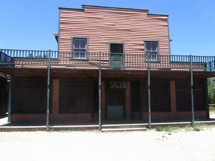 paramount ranch avant santa barbara en californie aux USA lors d'un voyage aux etats-unis en famille