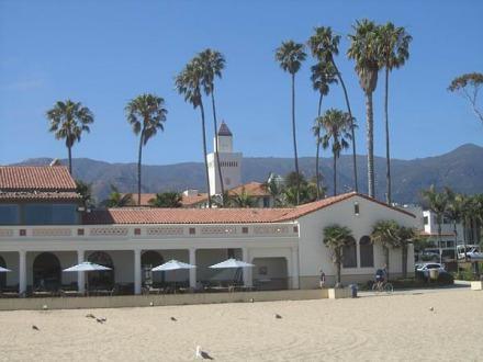 Santa barbara front de mer en californie aux états-unis à voir lors d'un voyage aux usa en famille