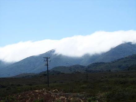Montagne proche de Santa Barbara en californie aux Etats-Unis à voir lors d'un voyage aux USA en famille