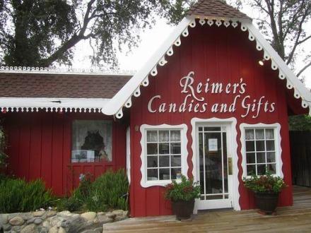 Candy Shop à Three Rivers en Californie en Amérique à découvrir lors d'un voyage aux USA en famille