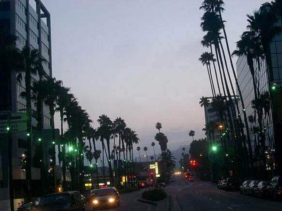 Hollywood Boulevard à Los Angeles en Californie à voir lors d'un voyage aux USA en famille