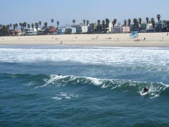 Les canaux de Venice Beach à los angeles en californie en amérique à découvrir lors d'un voyage aux etats-unis en famill