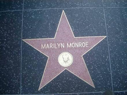 Walk of Fame sur le Hollywood Boulevard à los angeles en californie aux USA à voir lors d'un voyage aux etats-unis en famille