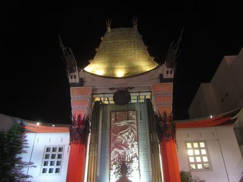 Le TCL Chinese Theater (ex Grauman's Chinese Theater) à los angeles en californie en amérique à voir au cours d'un voyage aux usa en famille