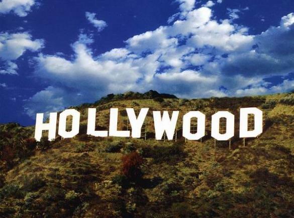 hollywood sign à los angeles en californie en amérique à voir au cours d'un voyage aux usa en famille