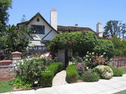 Une maison sur l'ile de Coronado à san diego en californie aux USA à visiter au cours d'un voyage en famille aux etats-unis