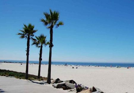 Coronado Beach à san diego en californie aux etats-unis où dormir lors d'un voyage aux usa en famille