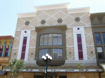 Immeuble art-deco dans le Gaslamp Quarter à san diego en californie en amérique à voir lors d'un voyage aux etats-Unis en famille