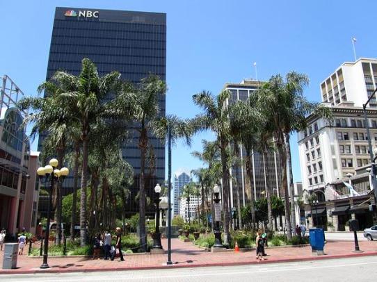 Le Downtown de San Diego en californie aux Etats-unis à parcourir lors d'un voyage