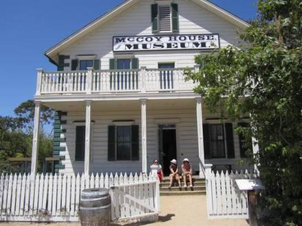 McCoy House une maison de 1869 à san diego aux etats-unis à visiter lors d'un voyage aux usa en famille en vacances