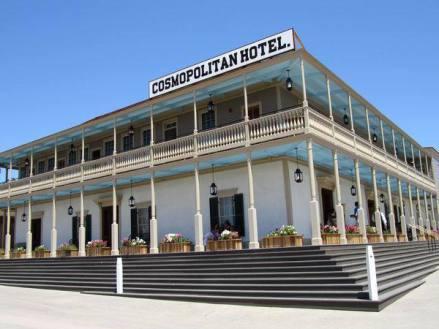 Cosmopolitan hotel de 1869 à san diego aux etats-unis à visiter lors d'un voyage aux usa en famille en vacances