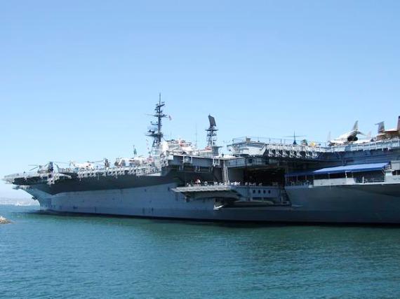 USS Midway Museum à san diego en californie aux USA à découvrir lors d'un voyage de vacances aux Etats-Unis