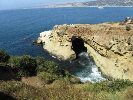 La Jolla à san diego en californie aux Etats-Unis à voir lors d'un voyage aux usa en famille en vacances