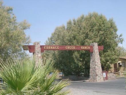 Furnace Creek dans la vallée de la mort en californie aux Etats-Unis où dormir pendant un voyage aux USA en famille en vacances
