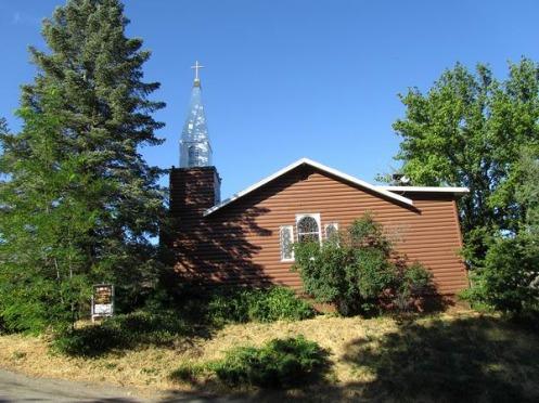 L'église de Julian en californie aux USA à visiter lors d'un voyage en famille aux Etats-Unis en vacances
