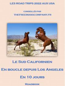 roadbook pour palm Springs et le sud californien