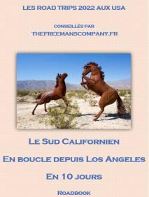 roadbook pour palm Springs et le sud californien