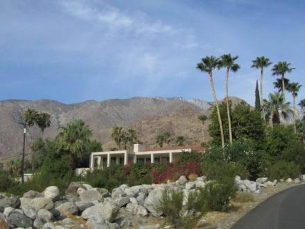 Villas à Palm Springs en californie en amérique à visiter lors d'un voyage en famille aux USA en vacances