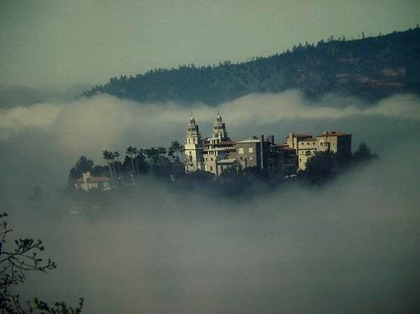 hearst castle en californie aux etats-unis lors d'un voyage aux usa en famille