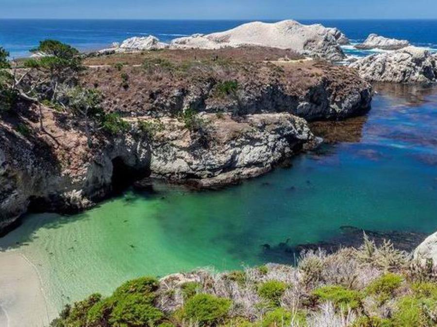 Point Lobos State Natural Reserve en californie aux etats-unis lors d'un voyage aux usa en famille