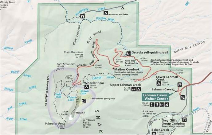 great basin national park au nevada aux etats-unis  voyage aux usa en famille en vacances
