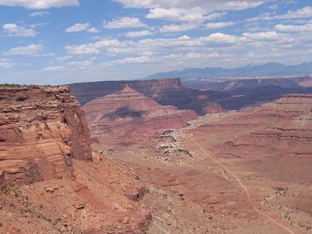 Canyonlands National Park en Utah aux Etats-Unis à découvrir lors d'un voyage aux USA en famille pendant les vacances