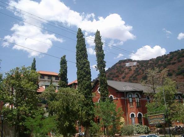 Bisbee en Arizona aux Etats-Unis à visiter lors d'un voyage aux USA en famille pendant les vacances
