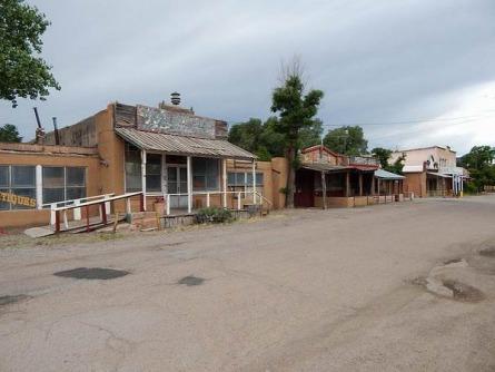 Cerrilos au Nouveau Mexique aux Etats-Unis à voir lors d'un voyage aux USA en famille pendant les vacances