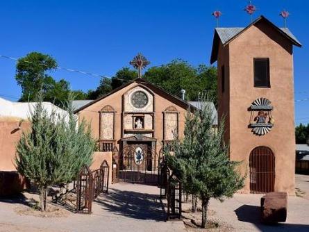 Taos au Nouveau Mexique aux Etats-Unis à découvrir lors d'un voyage aux USA en famille pendant les vacances