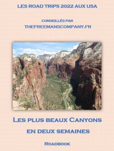 un roadbook pour un road trip qui passe par le lac powel