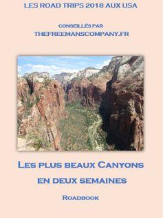 un roadbook pour découvrir le grand canyon lors d'un road trip
