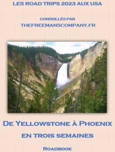 roadbook pour un road trip qui passe par phoenix