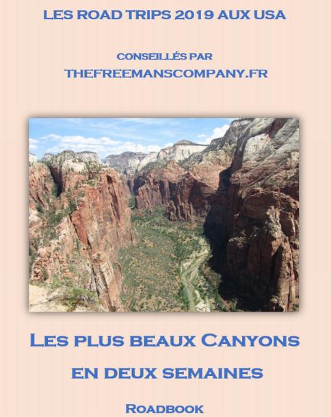 Un roadbook pour un road trip qui passe par arches park