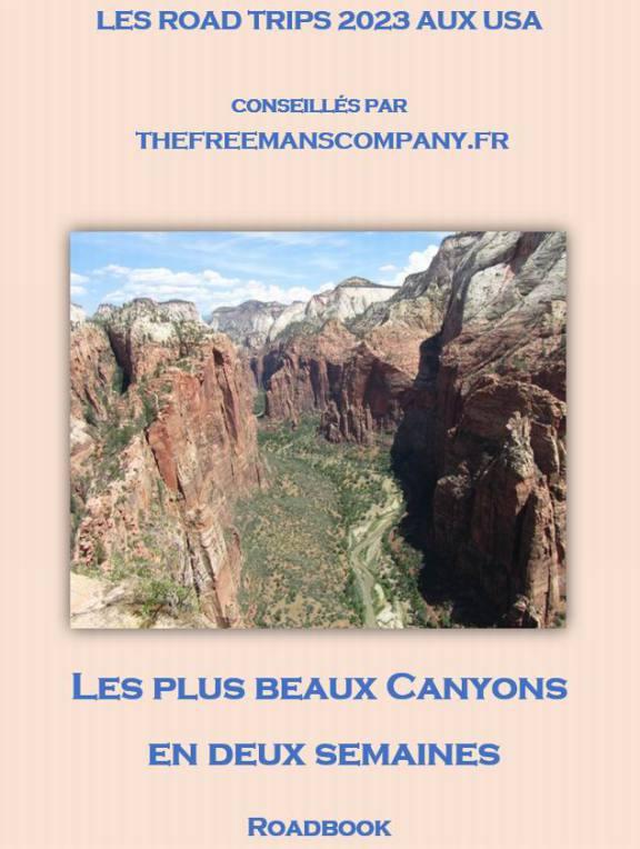 Un roadbook pour un road trip qui passe par canyonlands