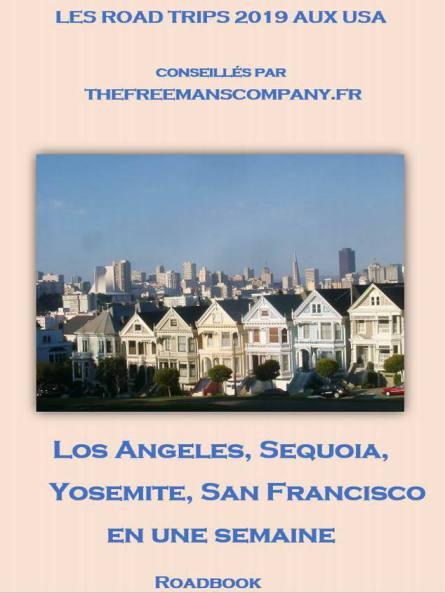 Roadbook de Los Angeles à San Francisco