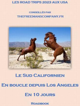 roadbook pour visiter le sud californien