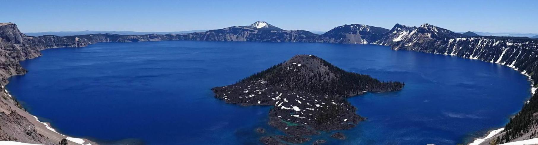Le parc national de crater lake en oregon