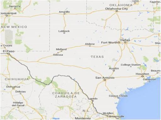 L'ouest américain le Texas voyage aux usa en famille