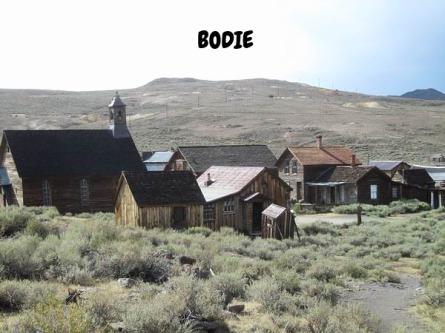 Bodie et mono lake Californie voyage aux USA en famille