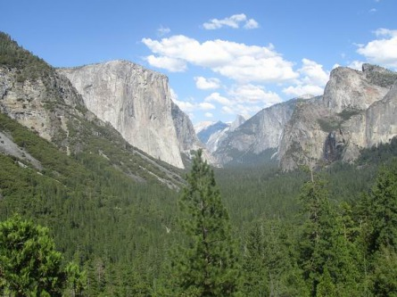 Tunnel view yosemite national park californie voyage aux usa en famille