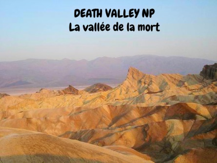 La vallée de la mort Californie voyage aux USA en famille