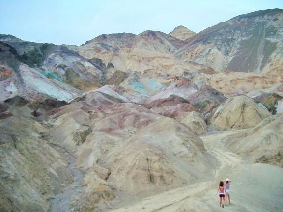 artist palette vallée de la mort californie voyage aux usa en famille