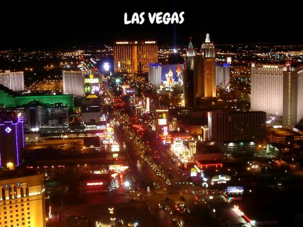 Las Vegas Nevada USA voyage en famille aux USA
