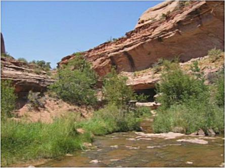 negro bill canyon utah etats-unis voyage aux usa en famille