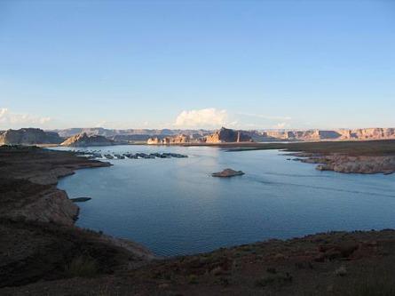 lake powel utah etats-unis voyage aux usa en famille