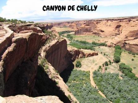 Canyon de Chelly Arizona voyage aux usa en famille