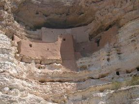 Montezuma Castle National Monument Sedona Arizona Etats-unis voyage aux usa en famille
