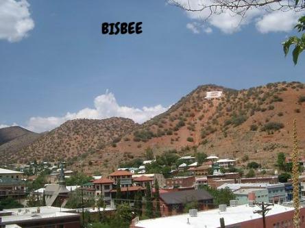 Bisbee Arizona Etats-Unis voyage aux USA en famille